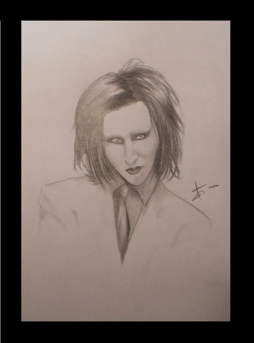 Marilyn Manson par ClaireP